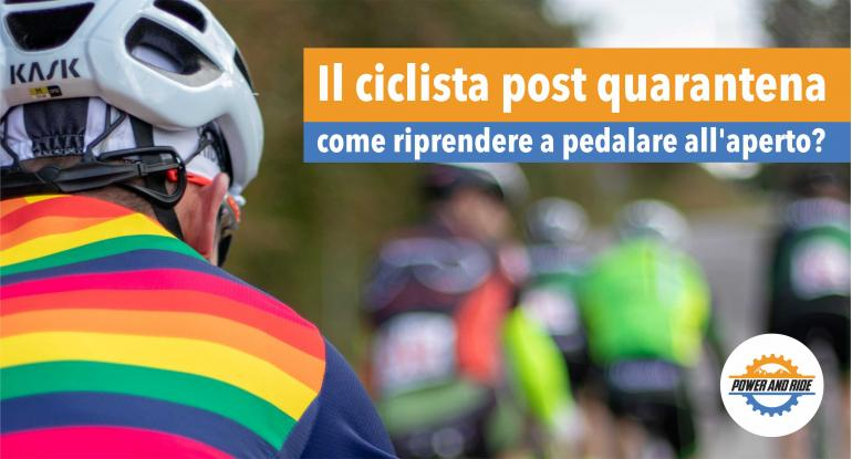 Il ciclista post quarantema